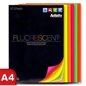 Premier-Actividad-Craft-Imprimible-A4-Fluorescente-Neon-40-hojas-de-papel-1-Pad