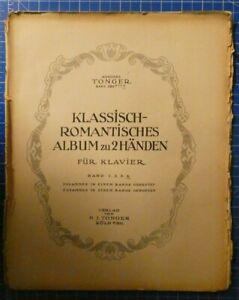 Ausgabe-Tonger-Band-559d-Klassisch-romantisches-Album-zu-2-Haenden-H8231