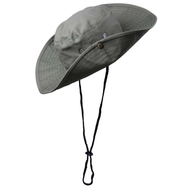 0f27208b HDE Men's Bucket Hat Wide Brim Boonie Outdoor UV Sun Protection ...
