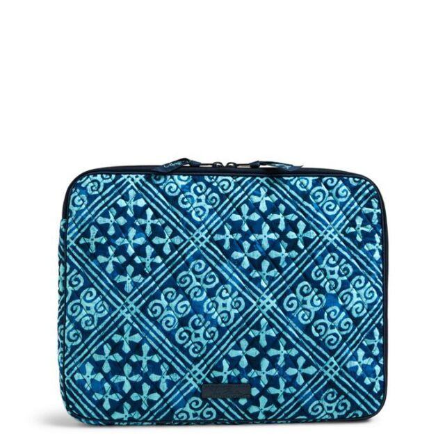 3205c1537af Vera Bradley Beautiful Cuban Tiles Padded Laptop Sleeve Fits 13