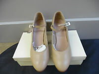 Tan Leather Bloch Cabaret 2.5 Character Stage Dance Shoes - Various Sizes