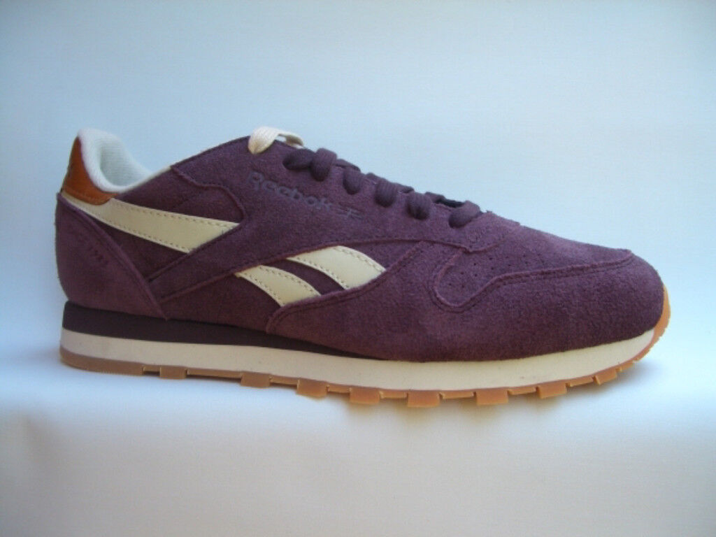 REEBOK CLASSIC LEATHER SUED Classic brombeer V48597  Sneaker Classic SUED Laufschuhe 67530a