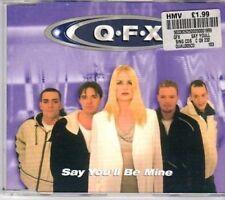 (BA920) QFX, Say You'll Be Mine - 1999 CD