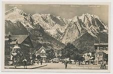 AK Adolf Wagner Platz in Garmisch  (N119)