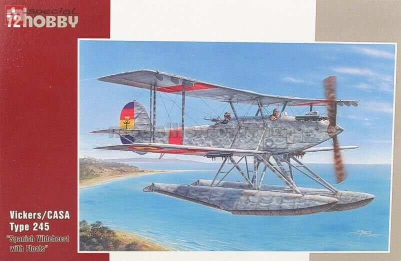 Special Hobby SH72241 Vickers CASA Type 245 1 72 modellismo statico