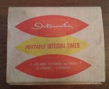 Vintage Intermatic Portable Interval Timer