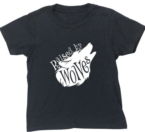 Raised By Wolves kids short sleeve t-shirt