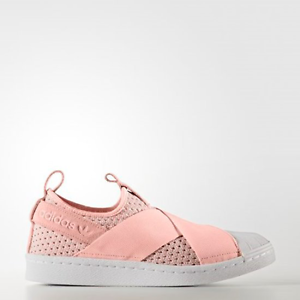 Image is loading New-Adidas-Original-Womens-Superstar-Slip-On-BB2122-