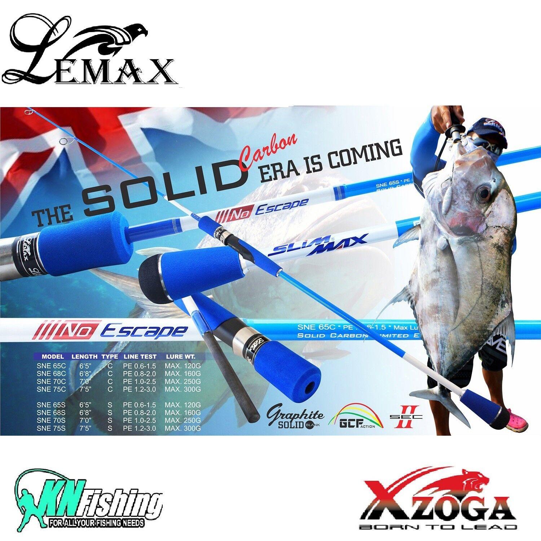 LEMAX _ xzoga _  No Escape  _ lento _ paso _ Jigging mar _ pesca _ rod _ _ SNE_65C_68C_70C_75C