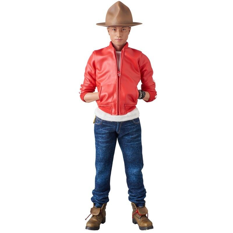 Medicom RAH Real Action Heroes Pharrell Williams Figure