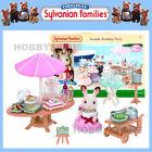 NEW SYLVANIAN FAMILIES SEASIDE BIRTHDAY PARTY w CHOCOLATE RABBIT 45+ PIECES 5207