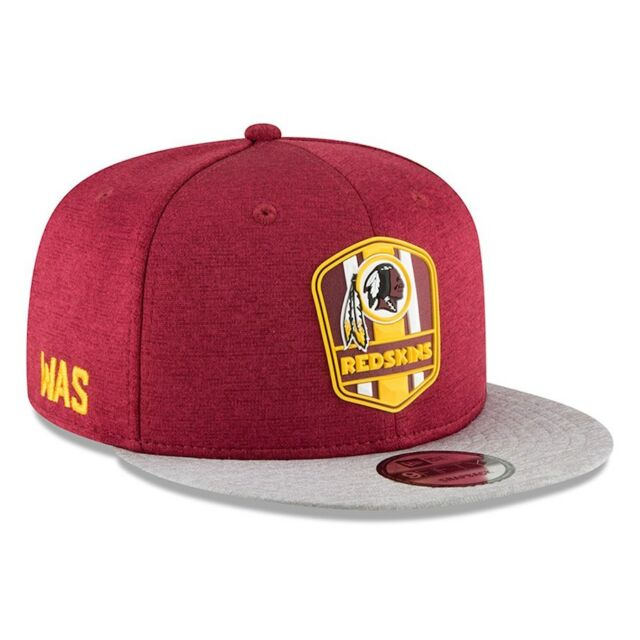 77f5ddc294f4ef WASHINGTON REDSKINS NFL NEW ERA 9FIFTY ROAD ON FIELD SIDELINE SNAPBACK HAT  $35