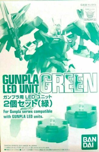 Bandai Accessories  GREEN LED Set for MG 2 pack BAS5056836