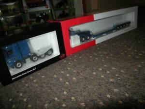 1-50-NZG-Mercedes-Benz-Arocs-SLT-Eurotrailer-Euro-PX-Lowloader-Nr-937-20-OVP