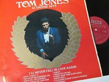 Tom Jones-13 Smash Hits-DECCA-LK4909-Vinyl-Lp-Record-Album-1960s