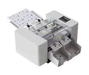 A4 Size Automatic Business Card Cutting Machine Electric