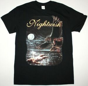 NIGHTWISH ONCE SYMPHONIC METAL TARJA TURUNEN WHITIN TEMPTATION NEW BLACK T-SHIRT