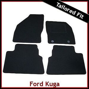 Honda Jazz 2008-2014 Tailored Car Floor Mats Complete Fitted Set in Black