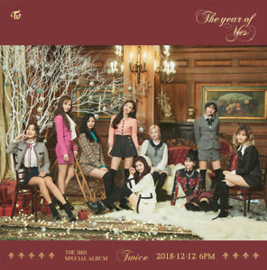 Details about TWICE [THE YEAR OF YES] 3rd Special Album  CD+POSTER+Book+Card+etc+Pre-Order+GIFT