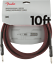 Genuine-Fender-Professional-Series-Guitar-Instrument-Cable-RED-TWEED-10-039-ft thumbnail 1