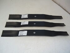 "3 USA MADE Mower Blades Woods 60"" L59 RM59 RM500 23825 31359 31359KT"