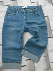 Sheego-Jeans-short-Blue-Ladies-Size-40-plus-Size-253
