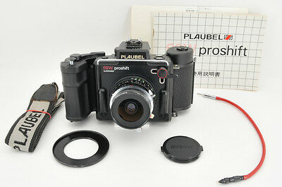 *Excellent* Plaubel 69W ProShift 6x9 Schneider 47mm f/5.6 from Japan #0436