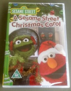 A Sesame Street Christmas Carol.Details About A Sesame Street Christmas Carol Dvd Brand New Factory Sealed Free P P