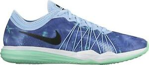 Details about Womens Nike Dual Fusion Training Print Trainers 844667 401 UK 4