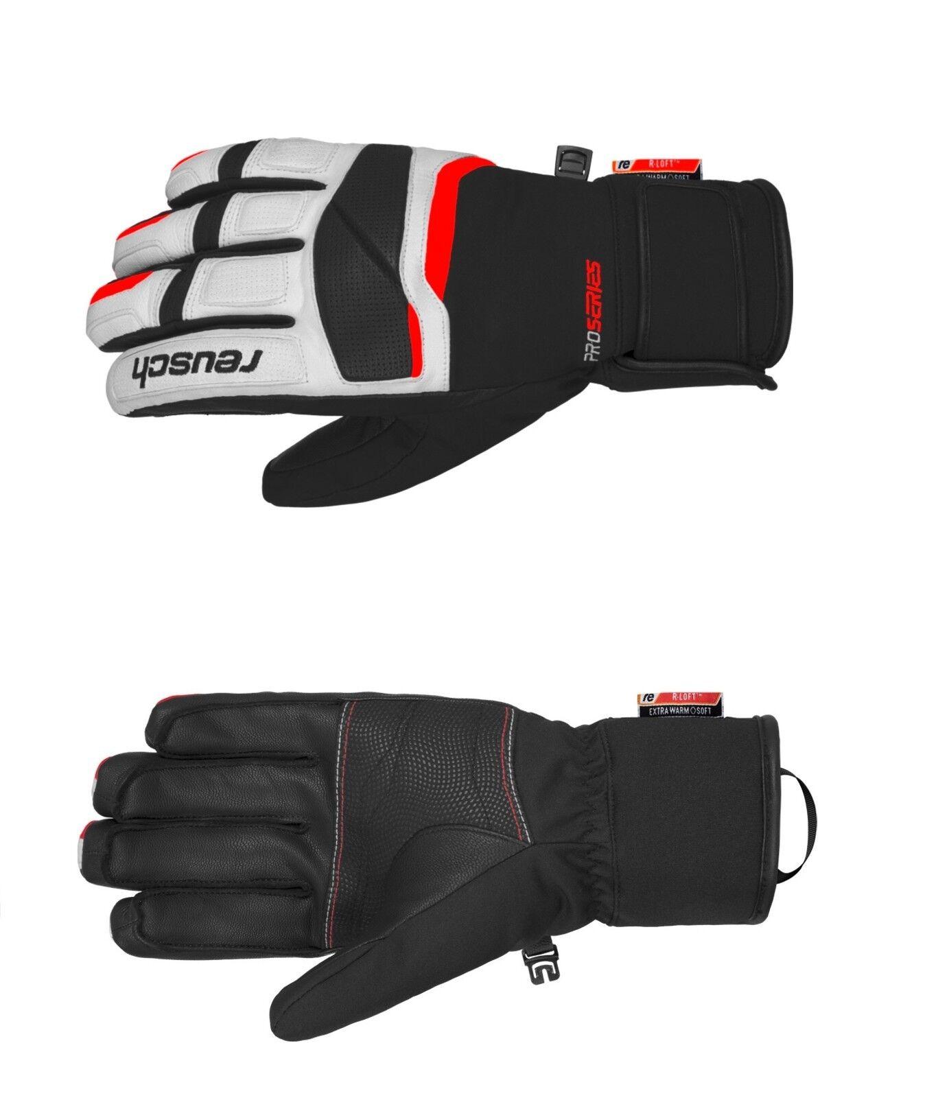 Reusch Mastery schwarz weiß rot Skihandschuhe 4801120745 Handschuhe 2019