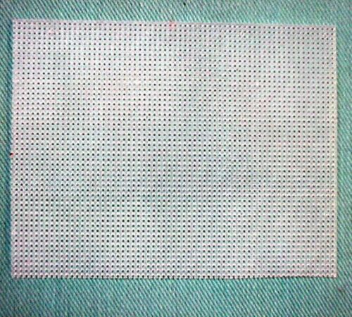 20 Twenty Quarter Sheets of 7 or 10 mesh Plastic Canvas