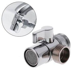 Wondrous Details About Bathroom Brass Sink Valve Diverter Faucet Splitter To Hose Adapter M22 X M24 Beutiful Home Inspiration Truamahrainfo