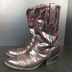 Lucchese-Mens-Cowboy-Boots-10-Handmade-Classics-GB0281-L0909-2E42110-Cherry