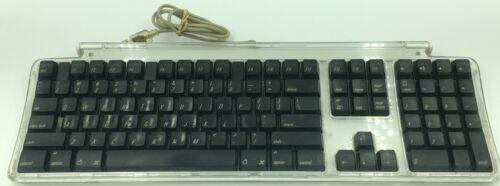 apple pro keyboard m7803 wired black 2 usb ports for sale online ebay. Black Bedroom Furniture Sets. Home Design Ideas
