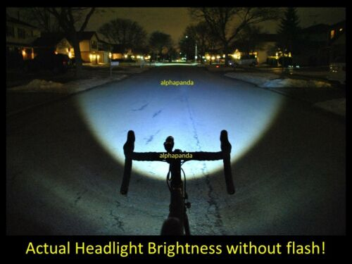 Bike Light LED Bicycle Lamp Front Cycling HeadLight CREE Safety Waterproof Flash