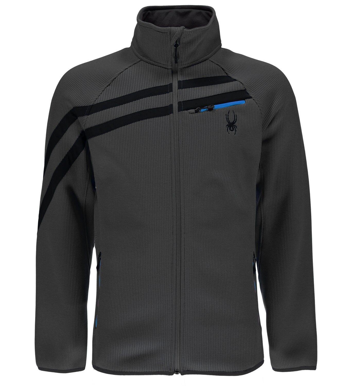 Spyder Mens Wengen FZ Mid WT Stryke Jacket (polar)