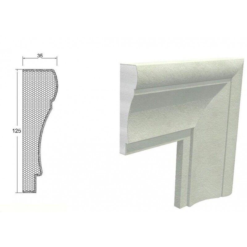 10 fotogramas en polystyrenharz 150 x 45 x 100 cm styroporrahmen marcos