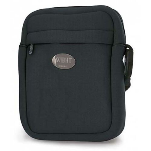 Avent Thermabag Insulated Baby Feeding Bottle Bag Black