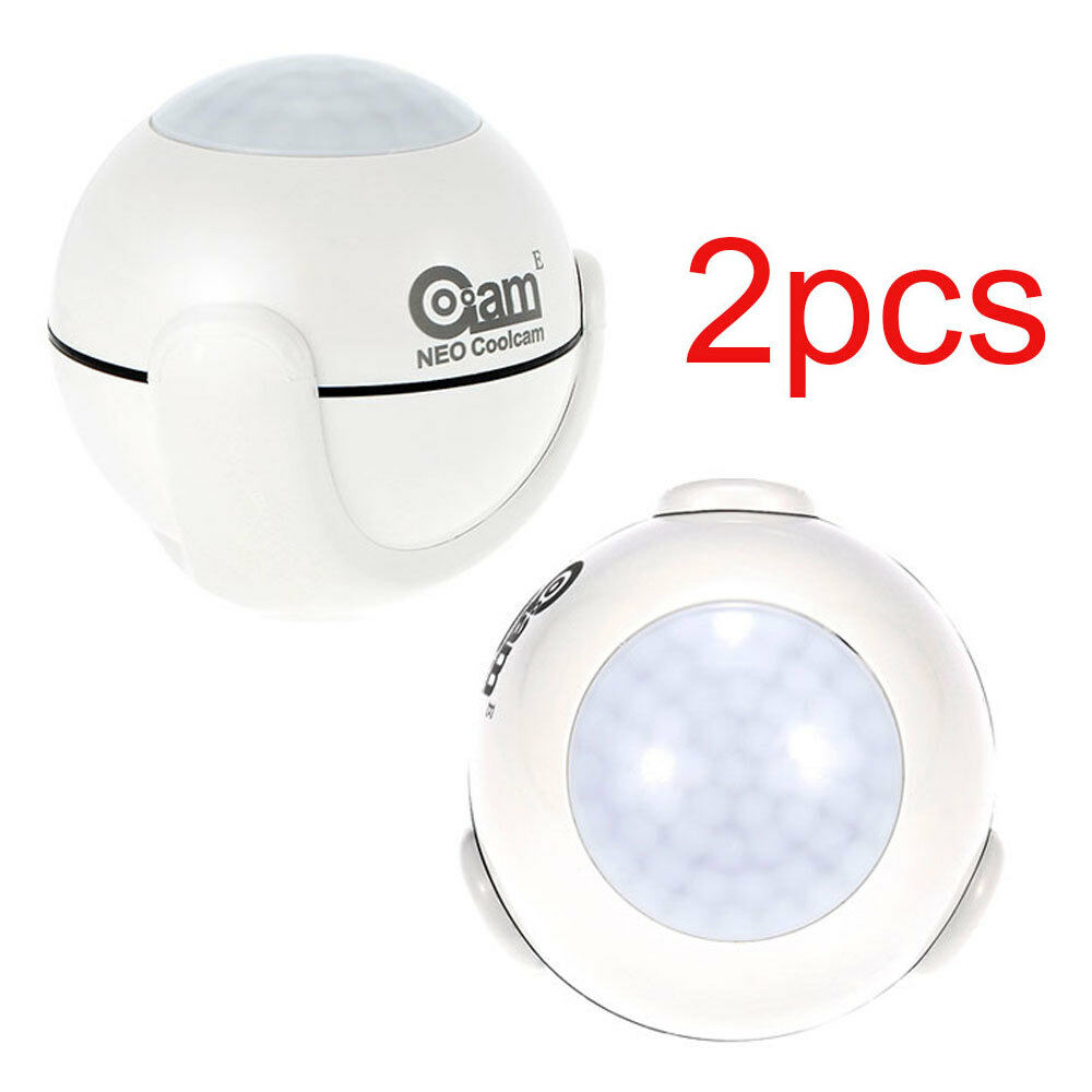 2X NEO Coolcam PIR Bewegungsmelder Detector Automatisierung Ssystem Der A3J4