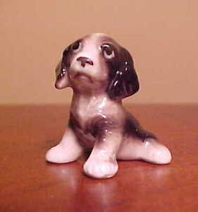 Hagen Renaker miniature made in America dog Springer Spaniel Puppy