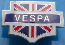 VESPA Union Jack Rosso, Bianco, Argento e Blu smalto pin badge
