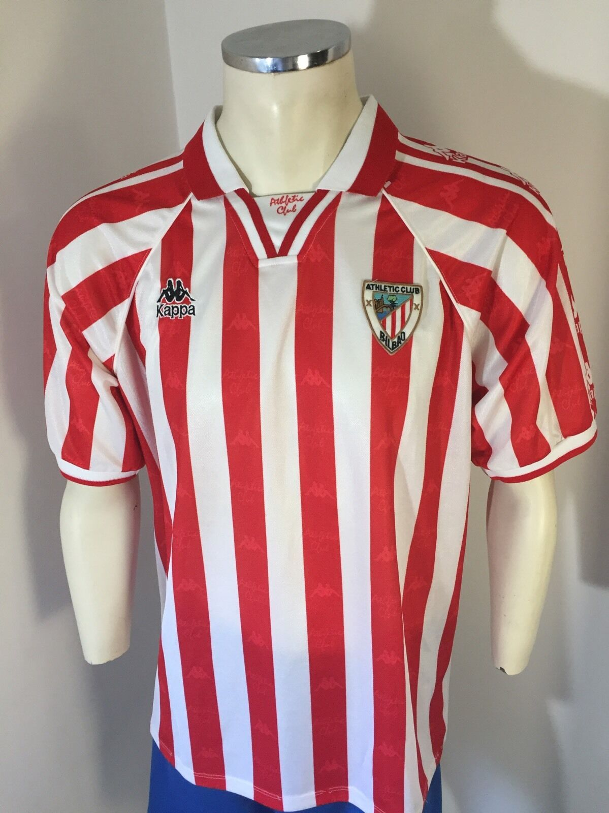 CAMISETA ATHLETIC CLUB BILBAO KAPPA SHIRT VINTAGE 90s Talla XL