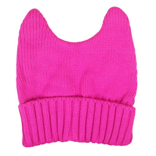 Pussy-Cat Pink Winter Christmas Hat Pussy-Hat Breast Cancer Beanie one size
