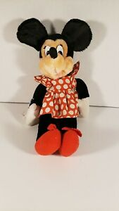 """Vintage Walt Disney Applause Minnie Mouse Plush Doll Stuffed Animal 17"""" 8539"""