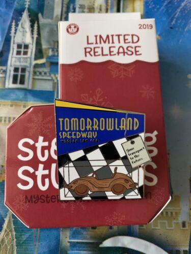 2019 Disney Parks Christmas Stocking Stuffers Mystery Pin TOMORROWLAND SPEEDWAY