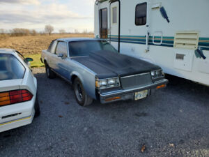 1984 Buick Regal with Cadillac Power