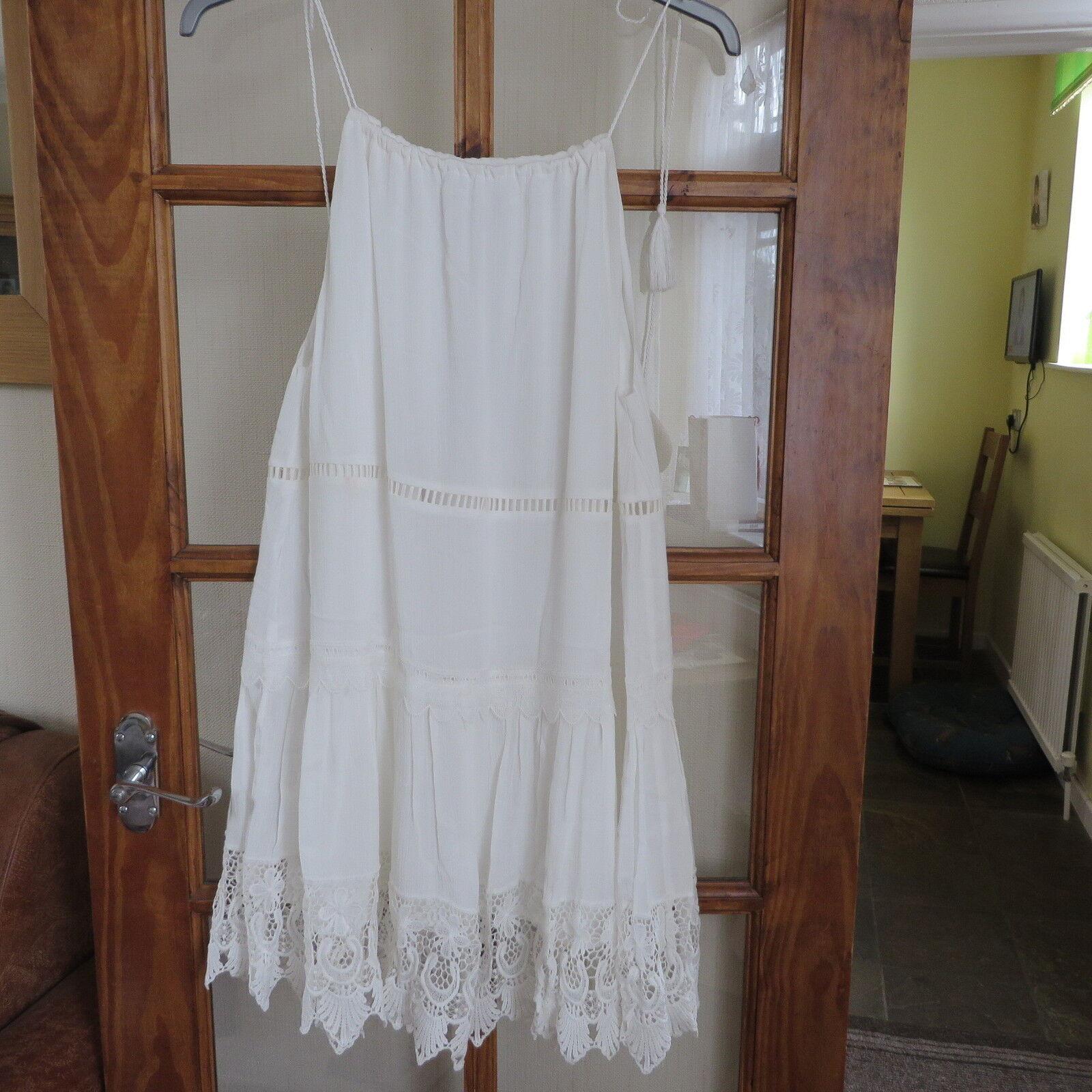 Jovonna Ivory Lace Insert dress size 10 RRP  BNWT