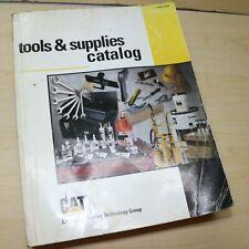 1999 Cat Caterpillar Hand Tool Guide Dealer Manual Catalog Shop Supplies Book