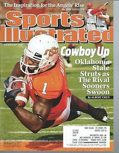 Details About Sports Illustrated Dez Bryant College Cover Oklahoma State University 9 14 09