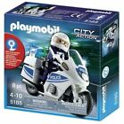 PLAYMOBIL 5185 City Action Police Motorcycle